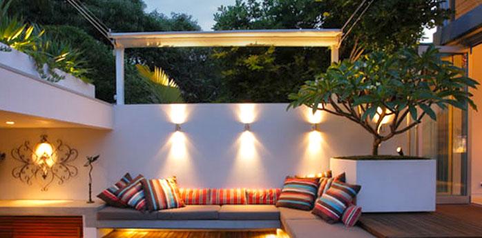 Illuminazione esterni impianti elettrici esterni e giardino mf impianti elettrici - Illuminazione esterna ...